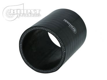 BOOST products Silikonverbinder 8mm, 75mm Länge, schwarz