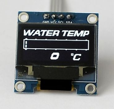 Zada Tech OLED digitale Wassertemperaturanzeige (Celsius)