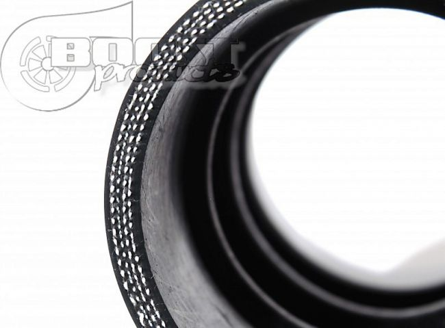 BOOST products Silikonbogen 90°, 76mm, schwarz